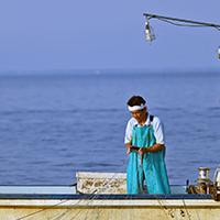 季節ごとに獲れる魚は異なる。湖のめぐみを様々な調理法でいただく