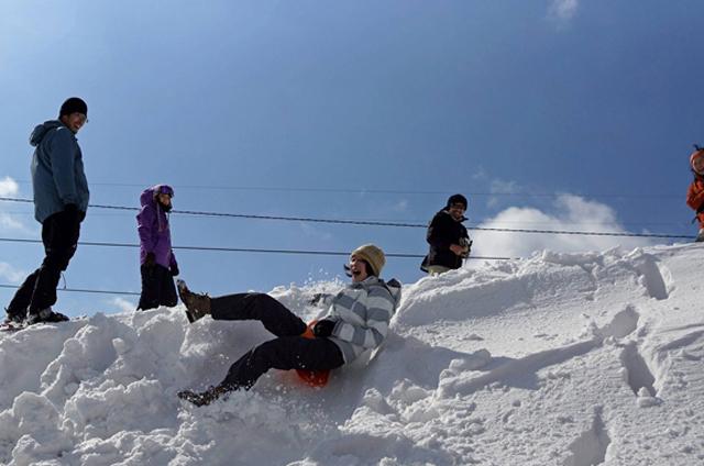 冬の遠足 スノーハイキング