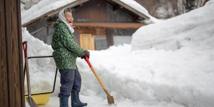 豪雪とともに暮らす