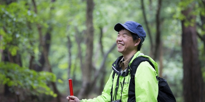 山門水源の森は多様な動植物のゆりかご