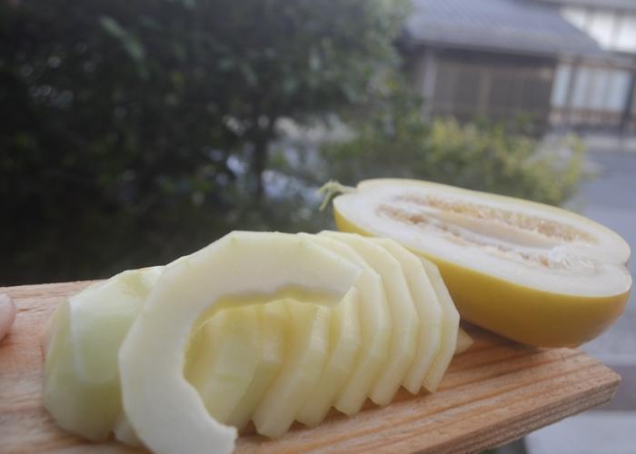 メロンのように甘い香りの真桑瓜