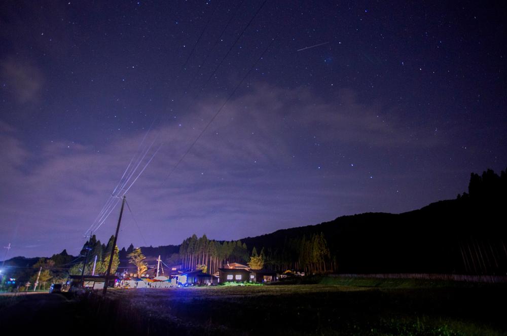 どっぽ村.夜景