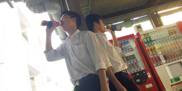 虎姫高校の自販機 -高校生ライター-