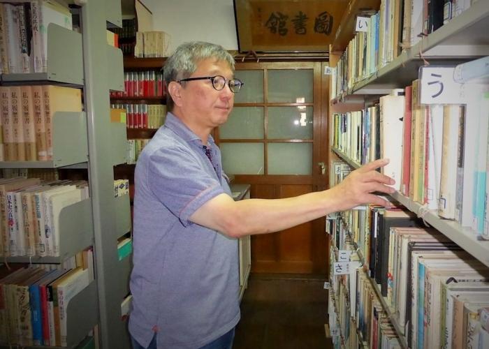 湖北ながはま・図書館史上に、この人あり。