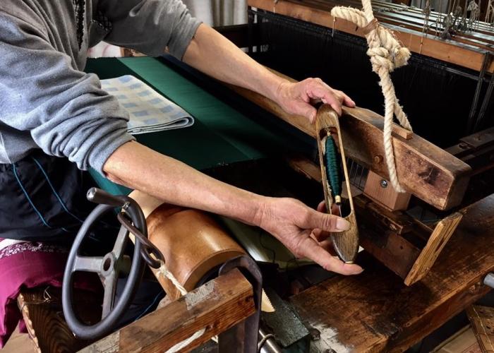 ー地に根をおろす暮らし 錦のこころー 締め込み織司 中川 正信さん