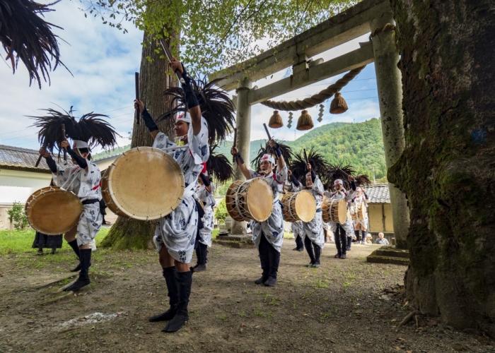 鍛冶屋町らしい太閤踊りの復活
