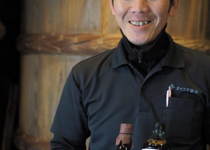 杉樽3年熟成で生まれる 濃厚なうまみと甘味のお醤油