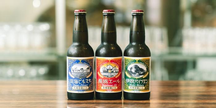 長浜自慢のクラフトビールを楽しむ